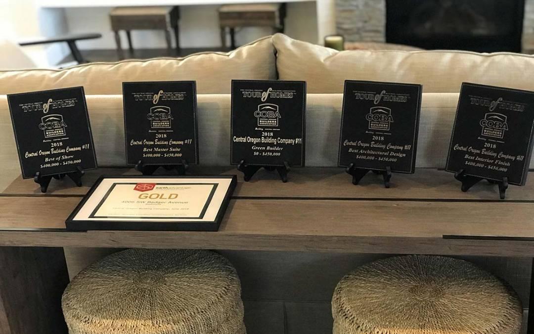 COBA Awards Presented to Prairie Crossing Homebuilders