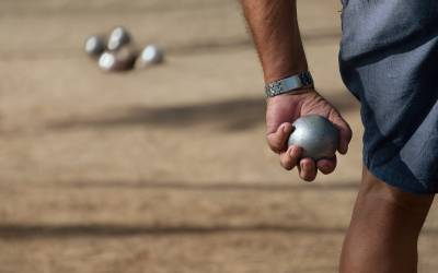 Did You Know That Prairie Crossing Has a Bocce Ball Court?