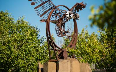 Experience Redmond Public Art with Prairie Crossing